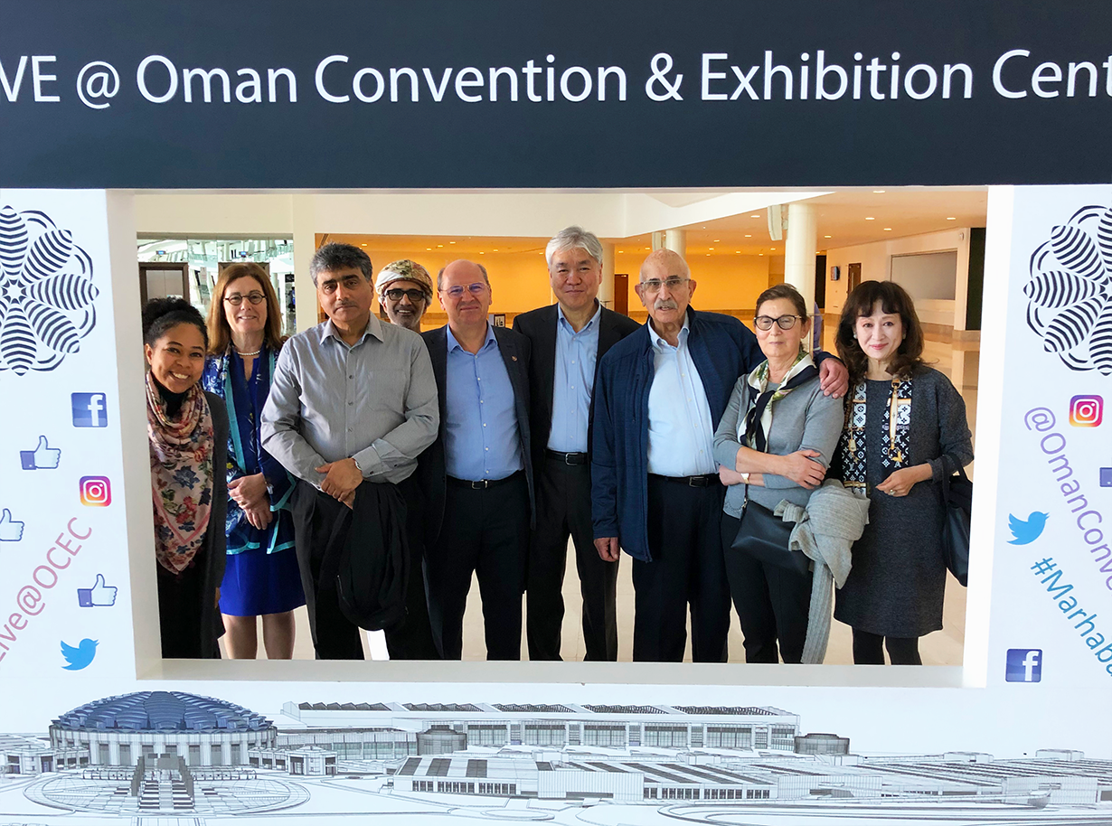 Site visit to Oman Convention & Exhibiton Centre for WFUMB2023
